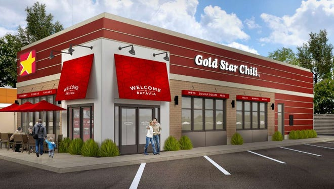 This rendering shows the new Gold Star Chili prototype design that will be built at the new Colerain Avenue restaurant.
