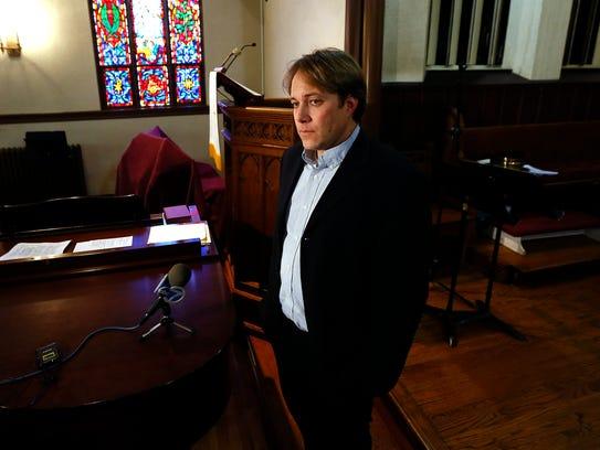 Rev. Seth Kaper-Dale of the Highland Park Reformed
