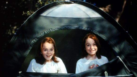 Lindsay Lohan stars as twins in the remake of the Disney