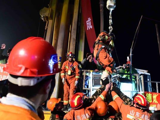 China mine rescue
