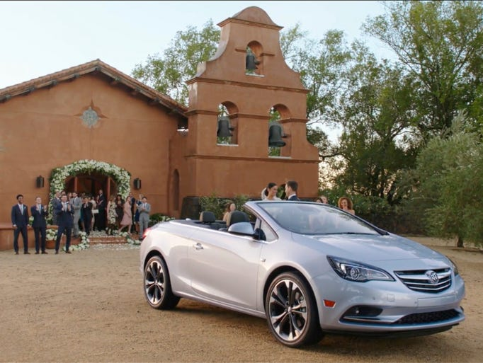 Buick's ad will air during Super Bowl 50.