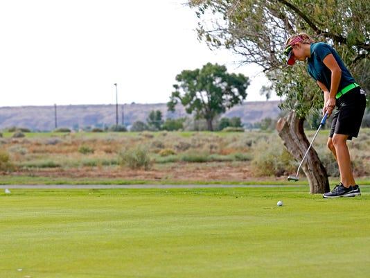 Farmington High golf