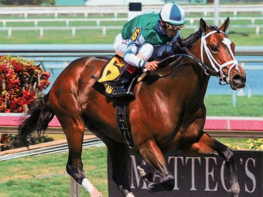 Materiality has a real shot at the run for the roses.