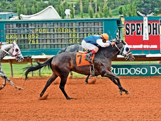 Jess A Hilbily Bone and Unfettered  are set for a rematch in the 30,000 Master Salls Handicap on Sunday at Ruidoso Downs.