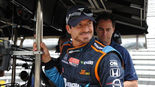 Alex Tagliani won the Indianapolis 500 pole in 2011
