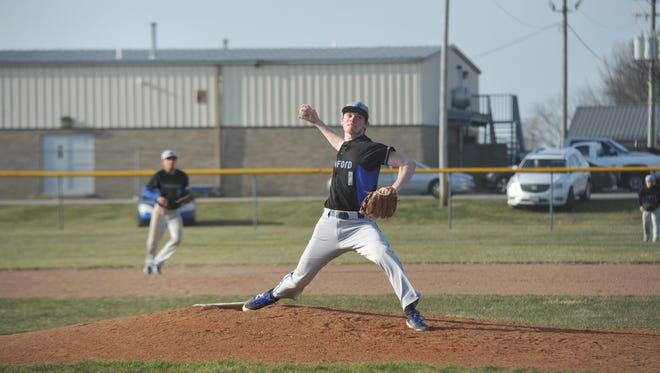 Wyatt Smith had yet another dominating performance on the mound and stepped up offensively again as well.