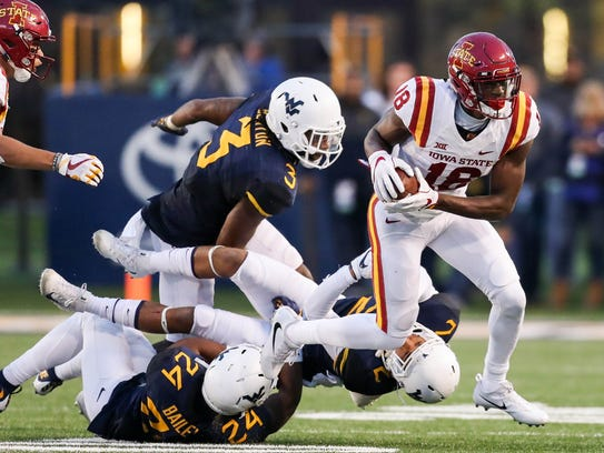 Iowa State Cyclones wide receiver Hakeem Butler (18)