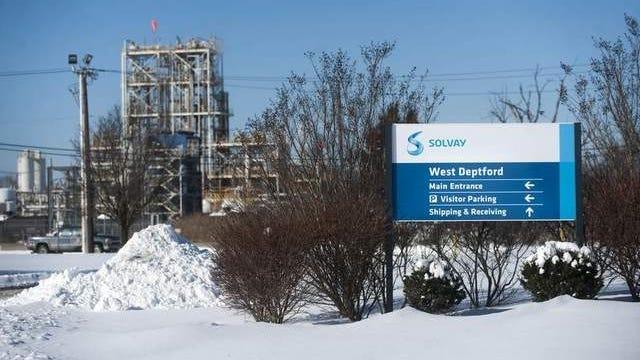 Solvay Specialty Polymers plant in West Deptford.