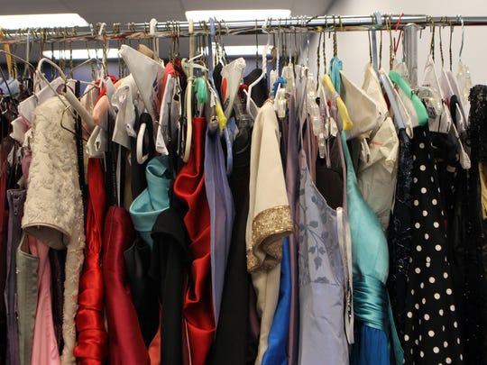 Operation Prom sells $50 bridesmaid gowns.