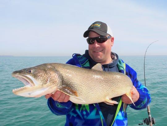 Brian Settele of Menomonee Falls, owner of Fish Chasers