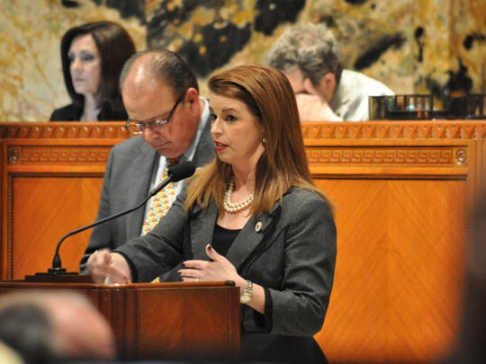 Rep. Julie Stokes tried to bring a compromise measure to a vote as the clock ticked down on an earlier special session.