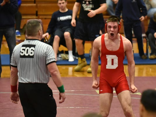 Delsea wrestling beats St. Augustine