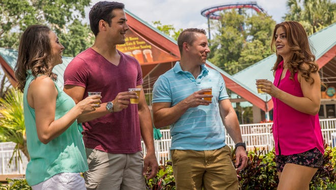 Free beer samples return to Busch Gardens Tampa Bay from now until August 5, 2018.