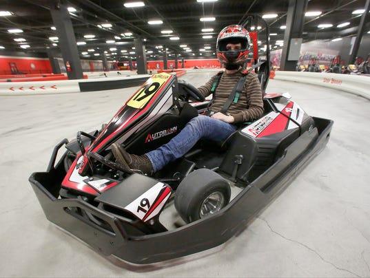 Car Racing At Palisades Mall