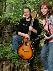Tammy Gregg, left, was photographed by Wendy Newman,