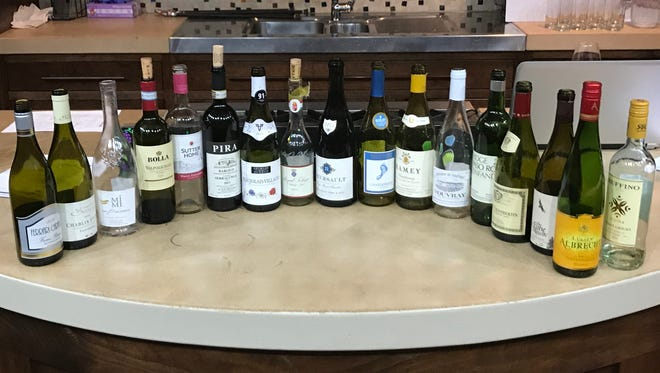 These were the wines tasted in one day in a WSET class at the New York Wine and Culinary Center in Canandaigua.
