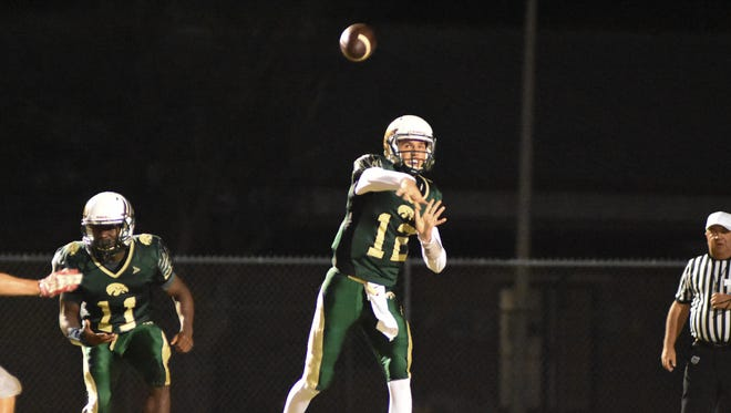 Viera High quarterback Tim Demorat was voted FLORIDA TODAY's Athlete of the Week for Nov. 14-20.