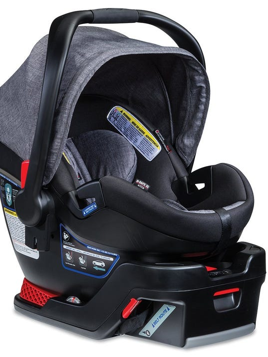 Britax car seats recalled due to cracking, fall risk