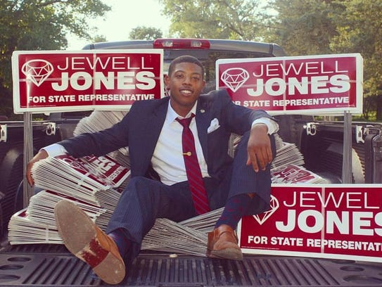 Jewell Jones campaigned in October for his state representative