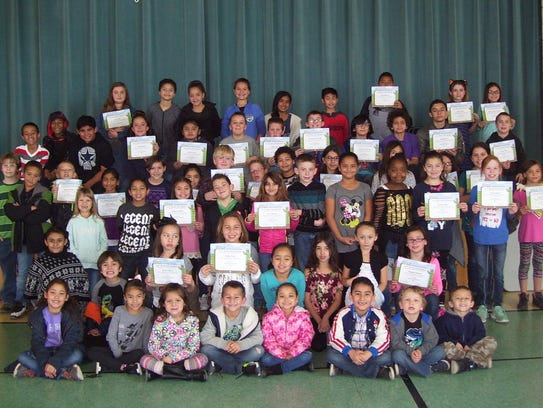 Seventy-five Heights Elementary School students were