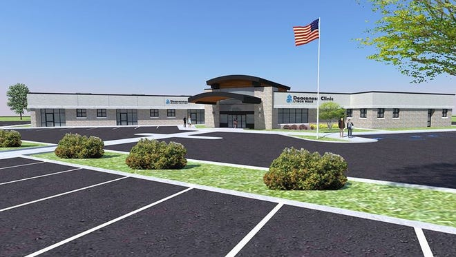Rendering of Deaconess Clinic Lynch Road, to be completed in fall 2017