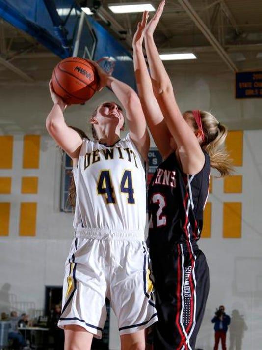 St. Johns at DeWitt basketball