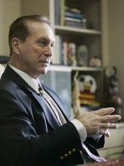 Nashville State Community College President George Van Allen