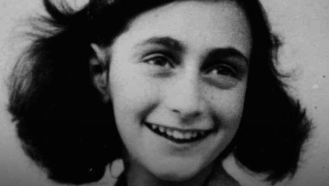 Anne Frank at age 13 in 1942. She made her last diary entry 70 years ago on Aug. 1, 1944.