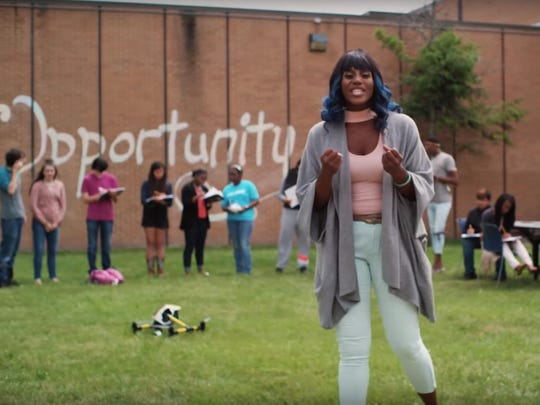 The video could be a reminder of how United Way has changed, and a pathway to big things for the hip-hop performer, poet, and teacher Mahogany Jones.