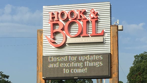 Hook & Boil's Broussard location closed in July and