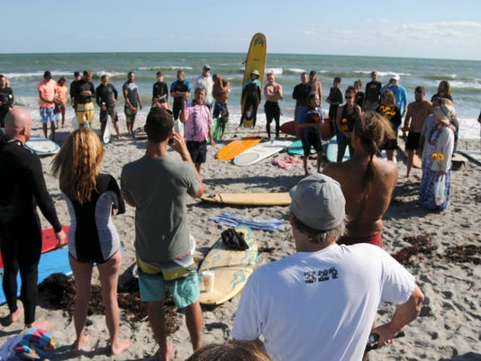 Paddle Out for Dana Brown