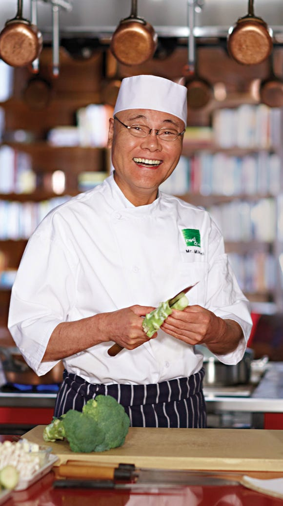 Chef Mikami-San will cook an East Meets West dinner