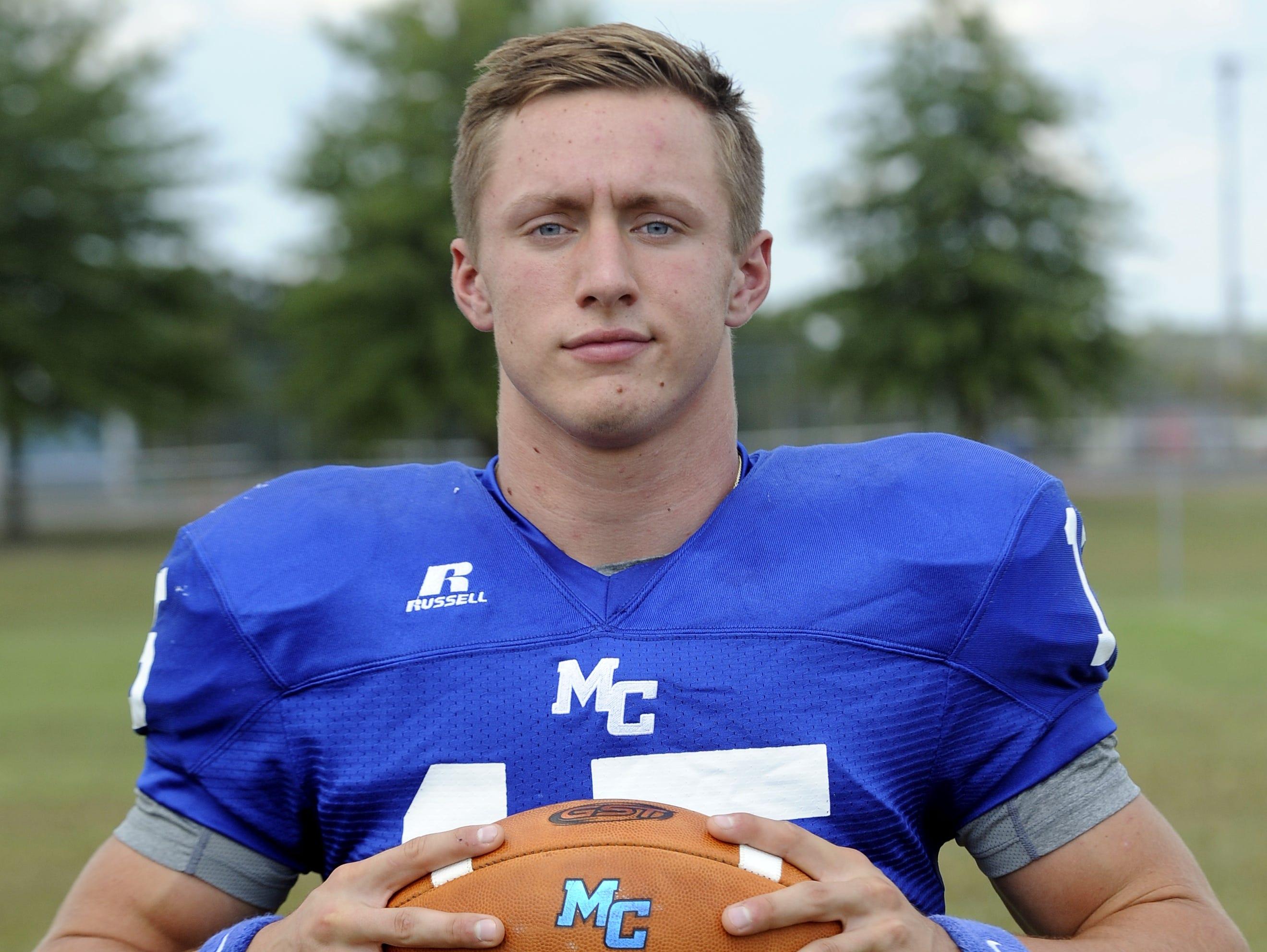 Macon County's Seth Carlisle