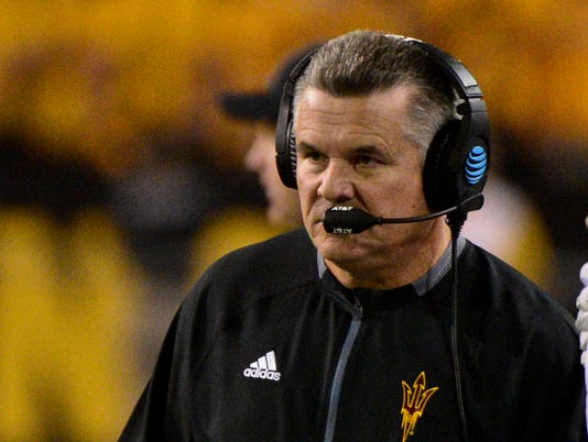 NCAA Football: Southern California at Arizona State