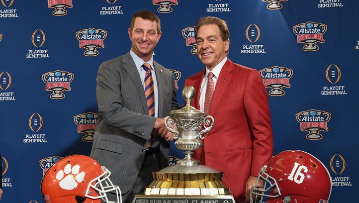 Clemson and Alabama hype videos build tension but strike different tones for Sugar Bowl 2018