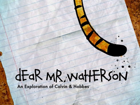 'Dear Mr. Watterson' becomes available on demand Nov. 15.