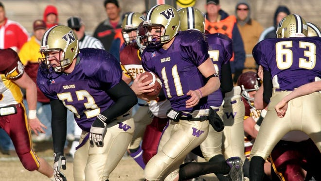 Jeff Larson was a tremendous quarterback at Cut Bank who went on to play several positions well for the Montana Grizzlies.