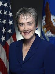 Heather Wilson, U.S. Air Force secretary.