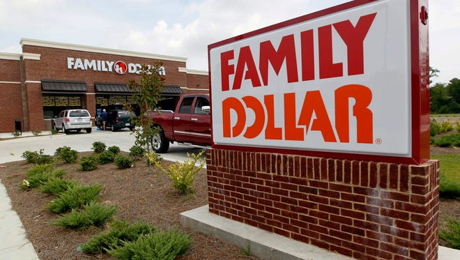 Family Dollar Stores location in Ridgeland, Miss. is shown in this 2014 file photo.