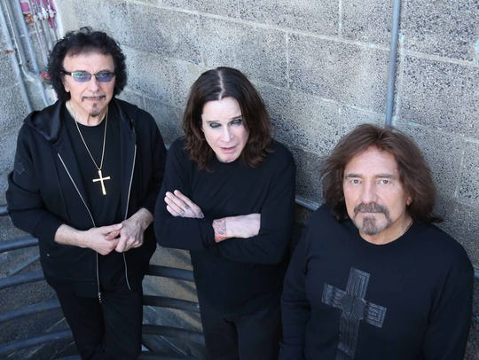 Black Sabbath will perform at 7:30 p.m. Sept. 9 at