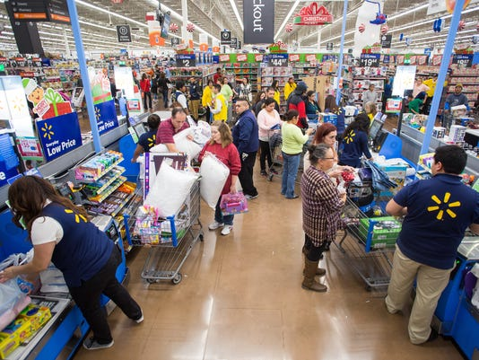 AP WALMART'S THANKSGIVING SHOPPING EVENTS A ENT CPAENT USA AR