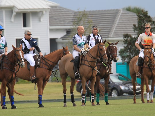 Polo matches start at 1:30 p.m. every Sunday through April 28, except for April 21, at the Vero Beach Polo Club.