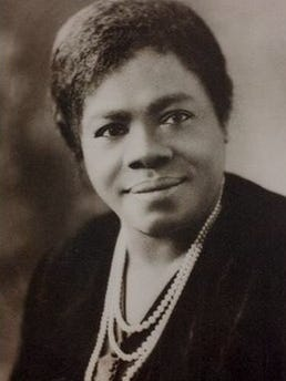 Mary McLeod Bethune became a national leader in civil rights.