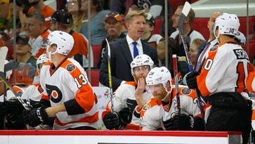Coach Dave Hakstol and the Flyers have their work cut out for them if they're going to make the playoffs.