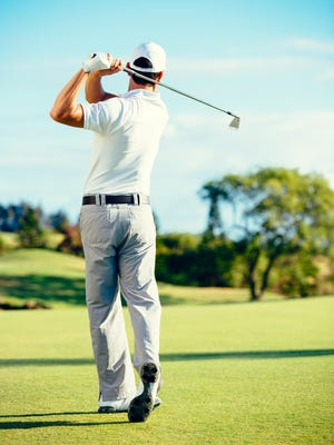 Proper posture leads to a more efficient golf swing.