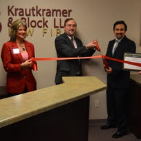 The Krautkramer & Block LLC Law Firm had a ribbon-cutting at the Wausau Region Chamber of Commerce on May 19.