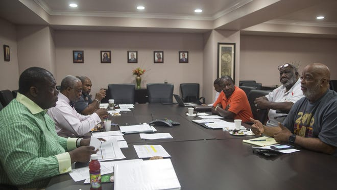 The FAMU Boosters Executive Committee met with the school's athletic department to discuss plans for gameday parking ahead of FAMU's upcoming football season.