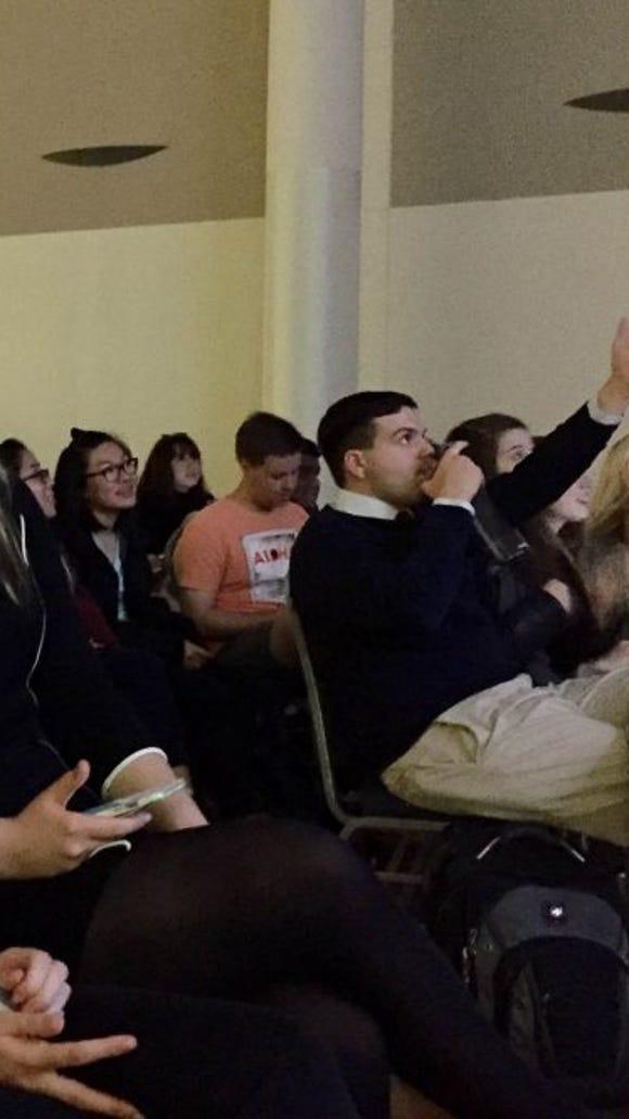 george washington students debate