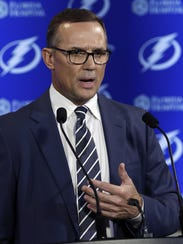 Tampa Bay Lightning general manager Steve Yzerman might