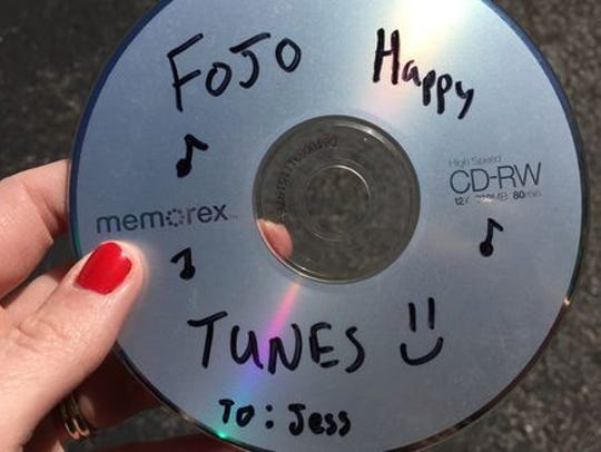 This CD is definitely still in my car after like...